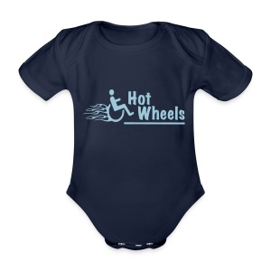 HotWheels3 - Baby bio-rompertje met korte mouwen