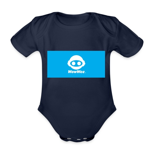 WoeWee - Organic Short-sleeved Baby Bodysuit