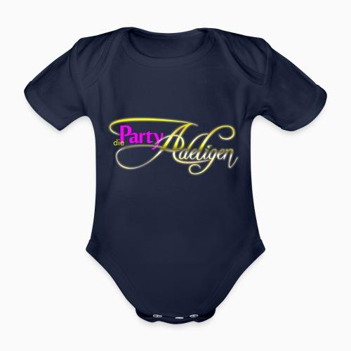 Die PartyAdeligen - Baby Bio-Kurzarm-Body