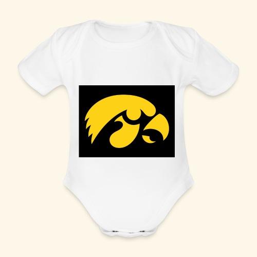 YellowHawk shirt - Baby bio-rompertje met korte mouwen