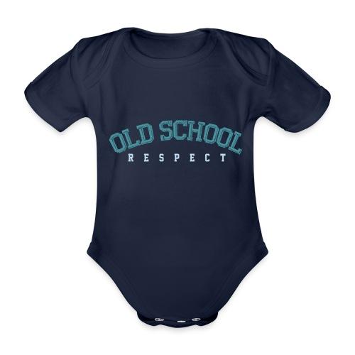 Old School Respect 02 - Baby bio-rompertje met korte mouwen