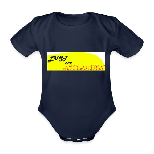 lust ans attraction - Organic Short-sleeved Baby Bodysuit