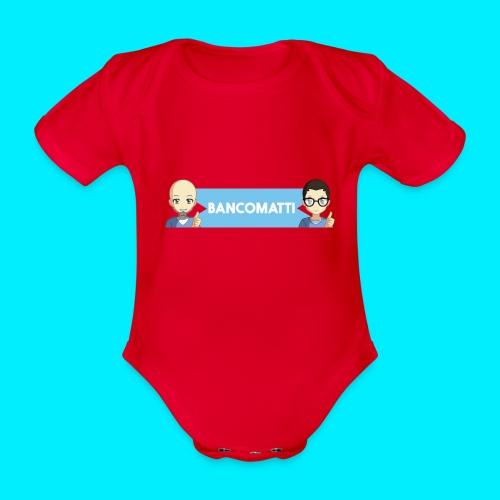 BANCOMATTI UN CASH BACK - Body ecologico per neonato a manica corta