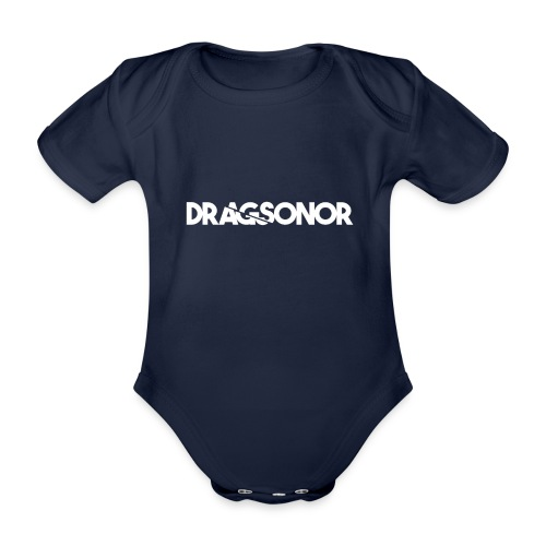 DRAGSONOR white - Organic Short-sleeved Baby Bodysuit