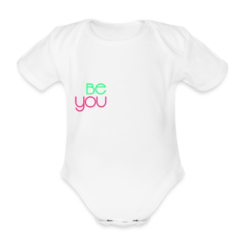 be you - Body ecologico per neonato a manica corta
