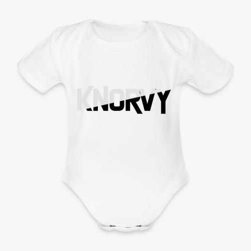 KNORVY - Baby bio-rompertje met korte mouwen