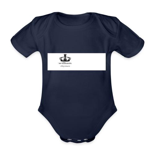 william - Organic Short-sleeved Baby Bodysuit