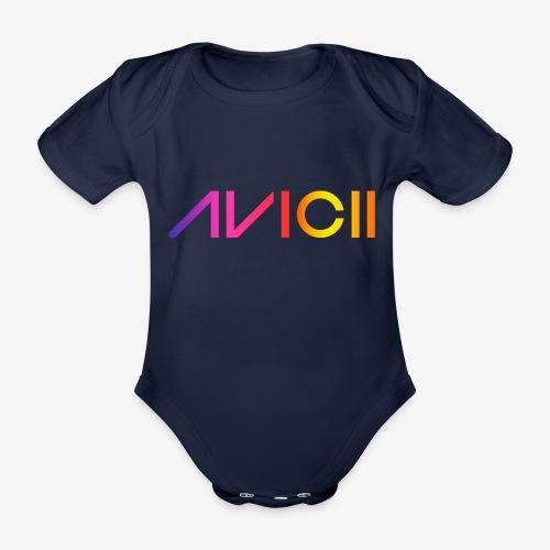 Color logo - Ekologisk kortärmad babybody