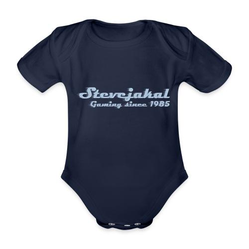 Stevejakal Merchandise - Baby Bio-Kurzarm-Body