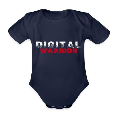 DIGITAl WARRIOR II - Ekologiczne body niemowlęce z krótkim rękawem