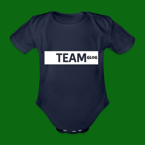 Team Glog - Organic Short-sleeved Baby Bodysuit