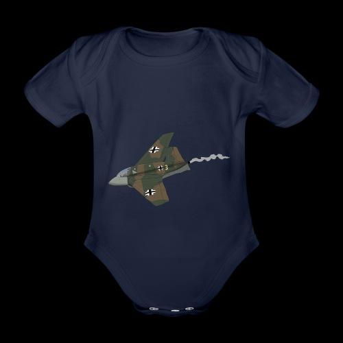 Me-163 Komet - Body ecologico per neonato a manica corta