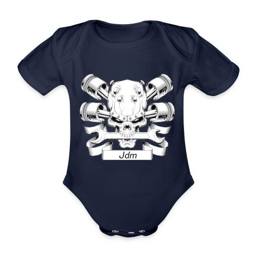 JDM dood - Baby bio-rompertje met korte mouwen