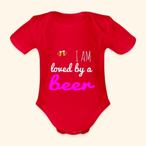 Birra Beer - Body ecologico per neonato a manica corta