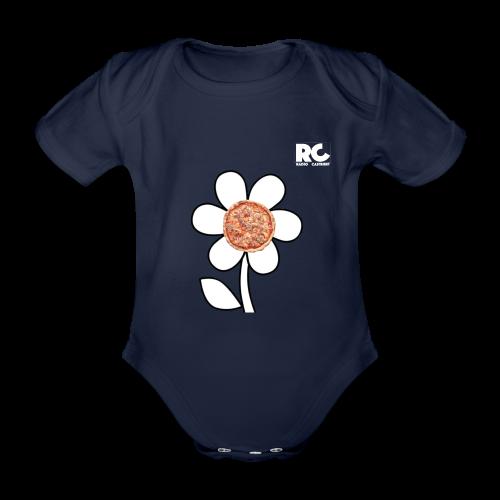 Pizzaflower Edition - Baby Bio-Kurzarm-Body