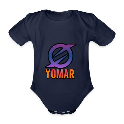 YOMAR - Organic Short-sleeved Baby Bodysuit