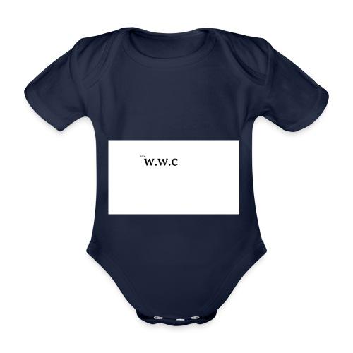 White Wolf Clothing - Kortærmet babybody, økologisk bomuld