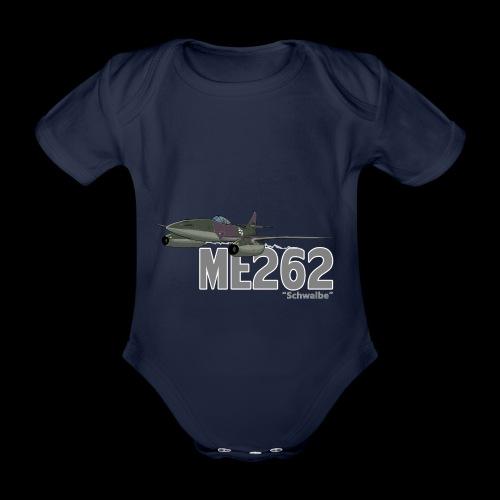 Me 262 Schwalbe (writing) - Body ecologico per neonato a manica corta