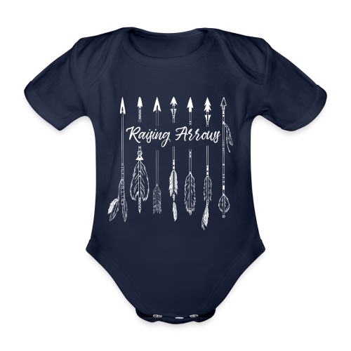 Raising Arrows - Baby Bio-Kurzarm-Body
