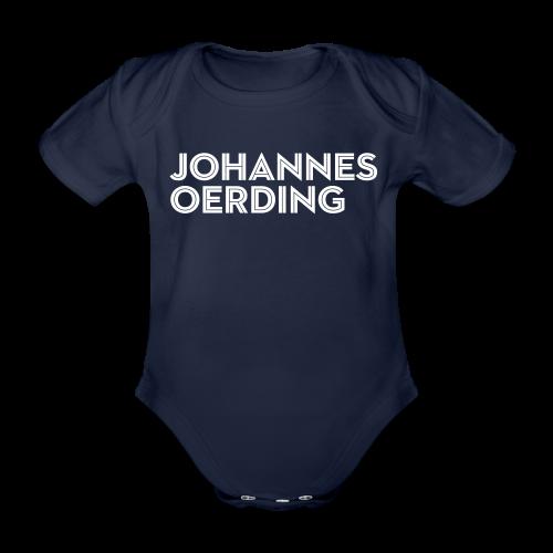 Johannes Oerding Schriftzug - Baby Bio-Kurzarm-Body