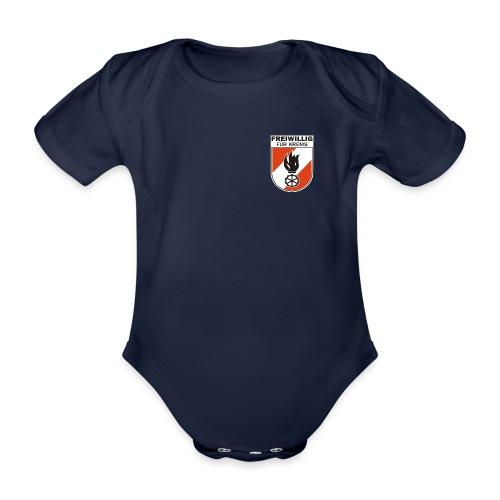 FF Krems Wappen - Baby Bio-Kurzarm-Body