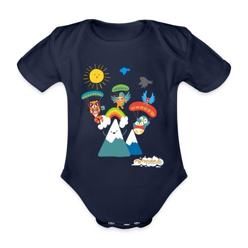 ComicDesign - Baby Bio-Kurzarm-Body