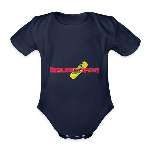 Resilincempathy reggae - Body ecologico per neonato a manica corta