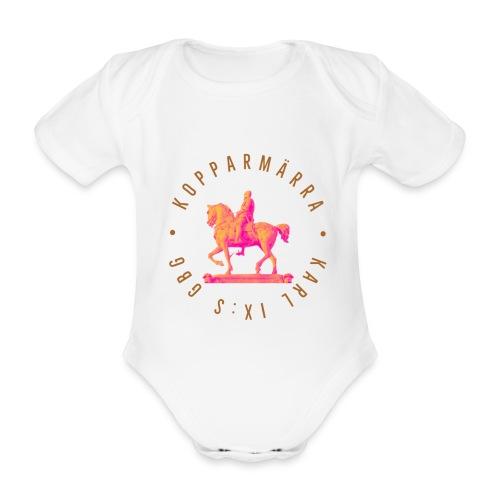 Karl IX:s GBG - Originalet - Ekologisk kortärmad babybody
