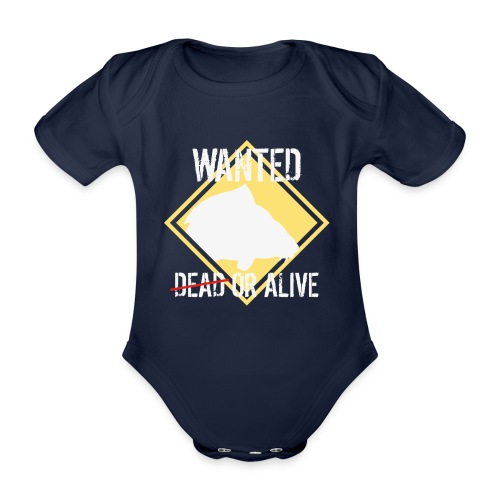 Wanted dead or alive - Baby Bio-Kurzarm-Body