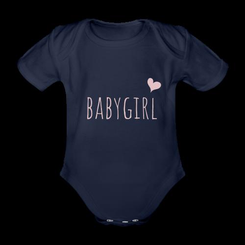 babygirl - Baby Bio-Kurzarm-Body