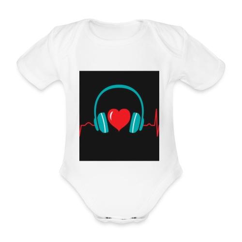 Victoria Sowinska - Organic Short-sleeved Baby Bodysuit