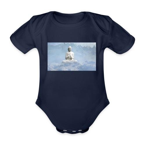 Buddha with the sky 3154857 - Organic Short-sleeved Baby Bodysuit