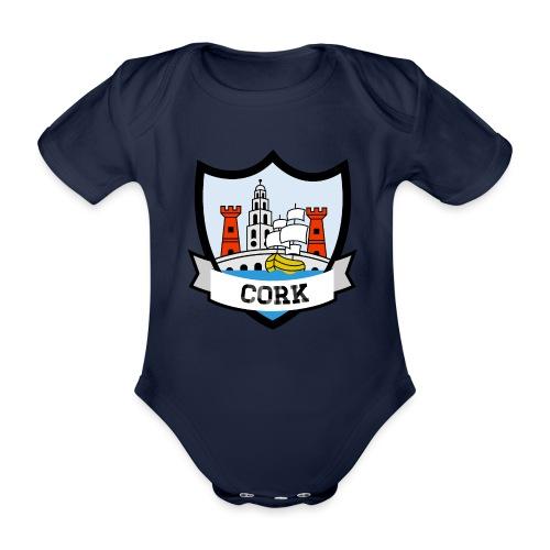 Cork - Eire Apparel - Organic Short-sleeved Baby Bodysuit