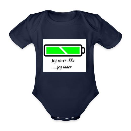 lader_2 - Økologisk kortermet baby-body