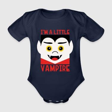vampiro - Body ecologico per neonato a manica corta