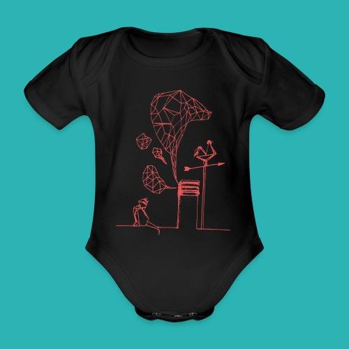 Carta_gatta_pink-png - Body ecologico per neonato a manica corta