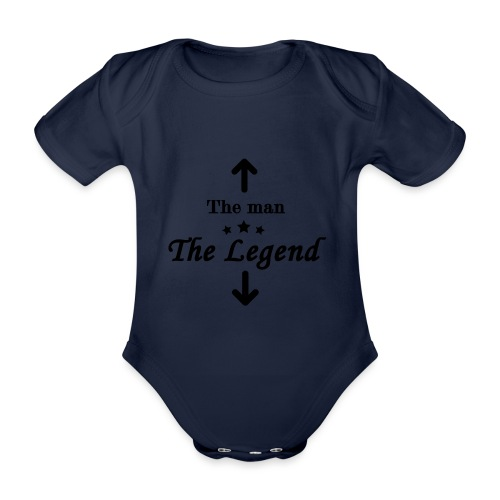 The Legend - Organic Short-sleeved Baby Bodysuit