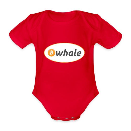 Bitcoin Whale - Organic Short-sleeved Baby Bodysuit