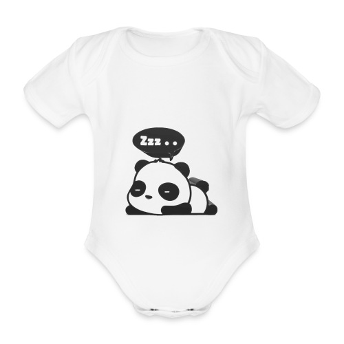shinypandas - Organic Short-sleeved Baby Bodysuit
