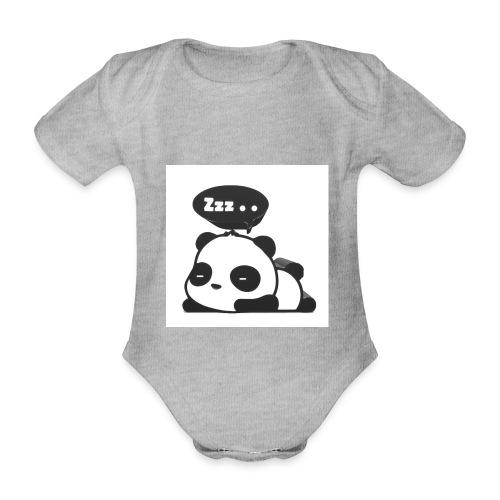 shinypandas - Organic Short-sleeved Baby Bodysuit