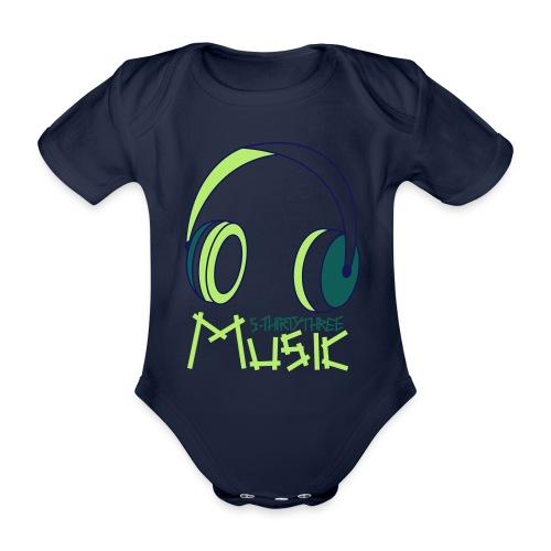 S33 Music - Baby Bio-Kurzarm-Body