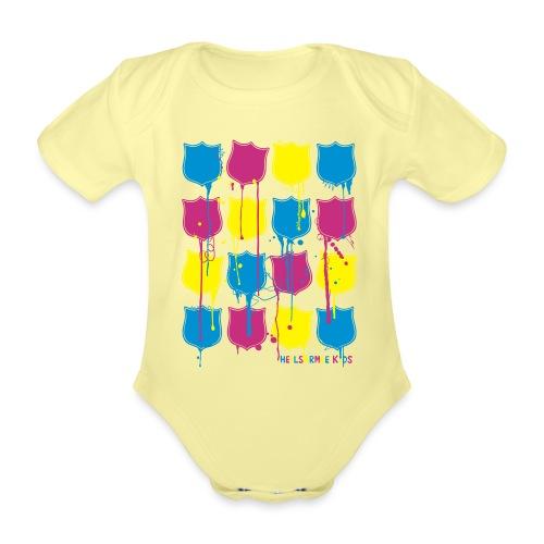 Kids Shirts Lots of Shields - Baby Bio-Kurzarm-Body