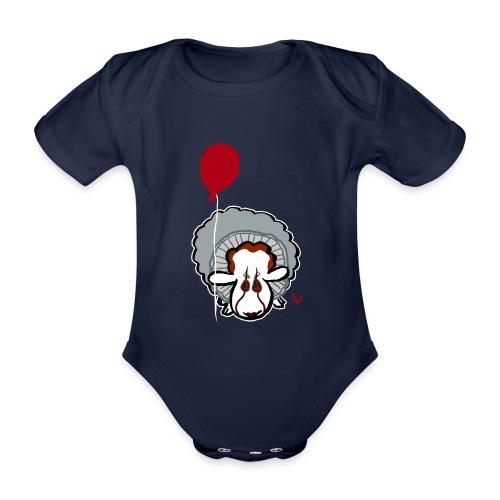 Evil Clown Sheep from IT - Baby Bio-Kurzarm-Body