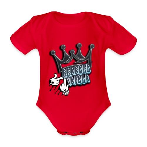 all hands on deck - Organic Short-sleeved Baby Bodysuit