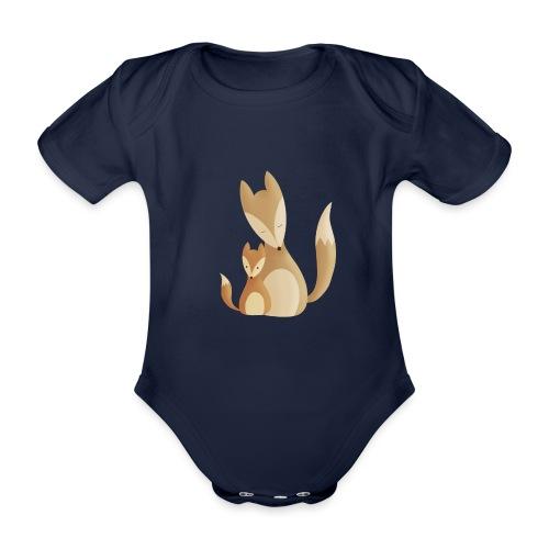 Fuchsliebe - Baby Bio-Kurzarm-Body