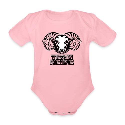 team heide logo 2c - Baby Bio-Kurzarm-Body