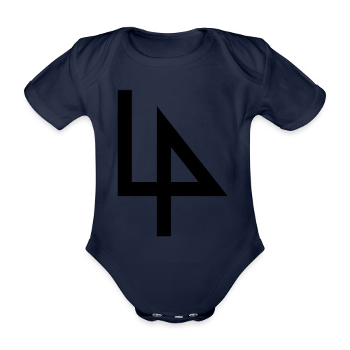 4 - Organic Short-sleeved Baby Bodysuit