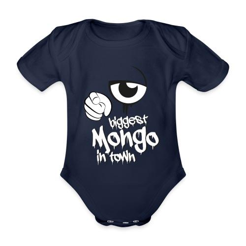 biggest mongo in town - Baby Bio-Kurzarm-Body