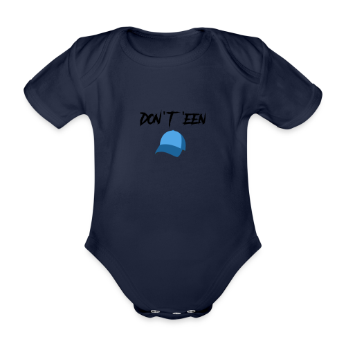AYungXhulooo - Atlanta Talk - Don't Een Cap - Organic Short-sleeved Baby Bodysuit