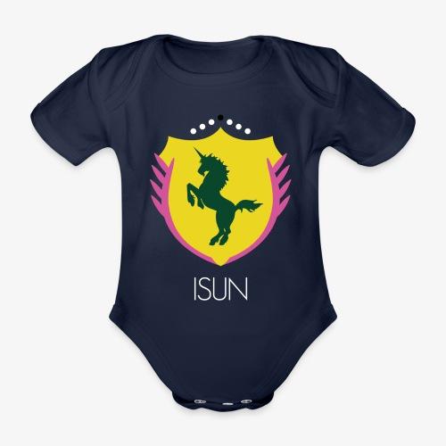 ISUN - Ekologisk kortärmad babybody